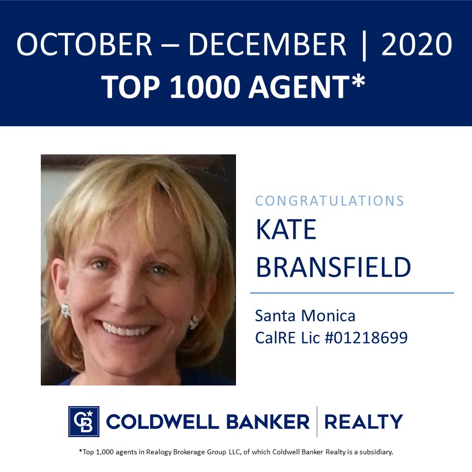 Kate Bransfield Top 1000 Agent